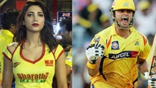 Shruti Haasan in Love With Cricketer Suresh Raina? | Hot Bollywood News | IPL 2014