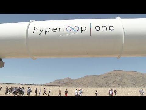 Hyperloop test run