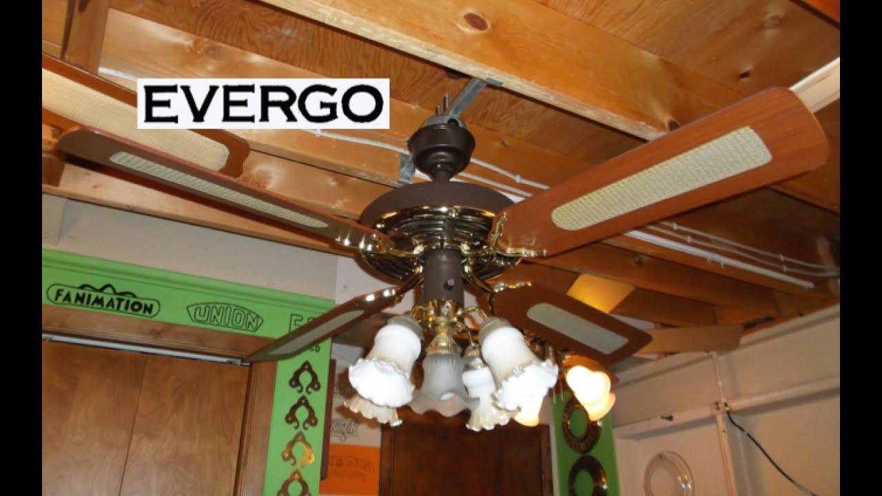 Evergo banana fan ceiling fan hd remake youtube - Little max ceiling fan ...