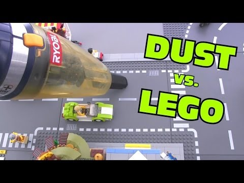 How I deal with DUST on LEGO layouts