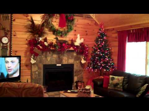 Gatlinburg Cabins Decorated for Christmas