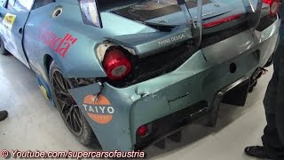 Ferrari 458 Speciale Challenge EVO - Aftermath CRASH
