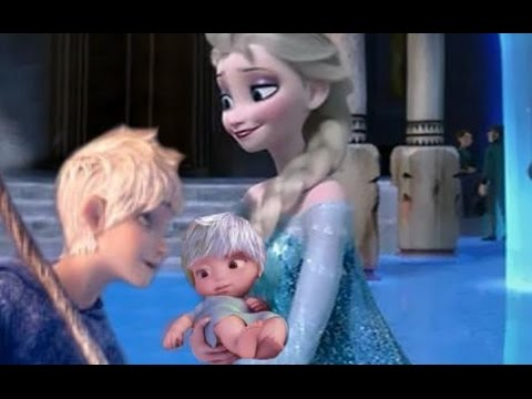 Elsa and Jack Frost Have a Baby - Disney Frozen Couple
