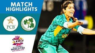Pakistan Bowlers Produce Stunning Display   Pakistan vs Ireland   Women's #WT20 2018 - Highlights