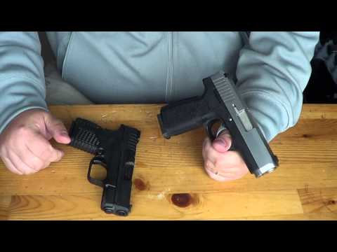 Springfield XDS vs Kahr CW45: Size & Feature Comparison