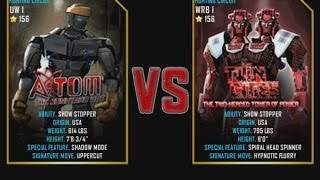Real Steel WRB Atom VS Twin Cities (champion) NEW graphics blows