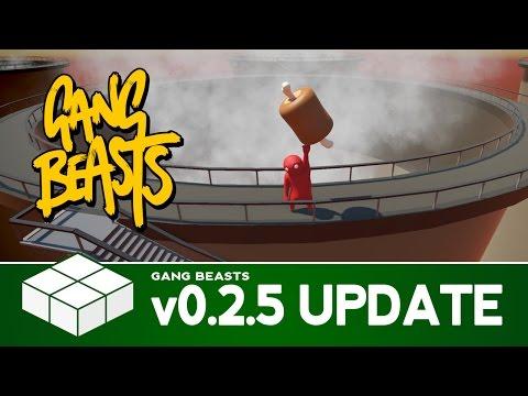 Gang Beasts v0.2.5 Update - Chute, Towers & Elevators