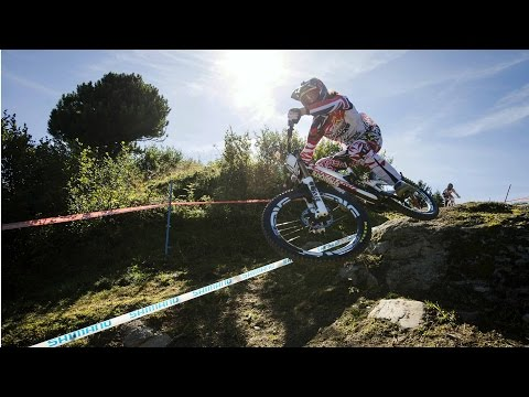 High Speed DH Mountain Biking in Meribel - UCI MTB World Cup 2014 Recap
