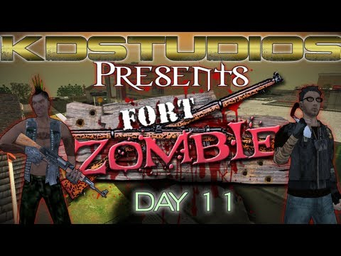 Fort Zombie: Day 11 - Say Hello to Misery (and Ammo!)