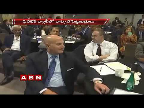 CM Chandrababu Meets Industrialists In US Tour | Global Companies Evince Interest To Invest In AP