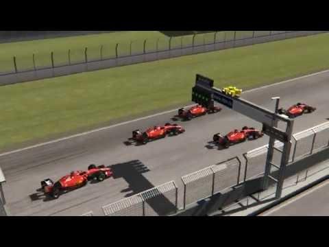 Assetto Corsa Ferrari SF15-T F1 AI race @ Hockenheim