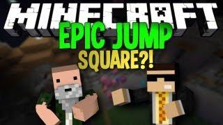 Minecraft: Epic Jump Map SQUARE?! (Bodil40 Parody)