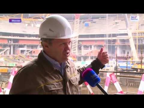 """Реконструкция """"Лужников"""" завершится раньше назначенного срока"""