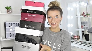 UNBOXING OCTOBER BEAUTY SUBSCRIPTION BOXES/ Glossybox, Birchbox, Cohorted, Heart & Soul, Books!