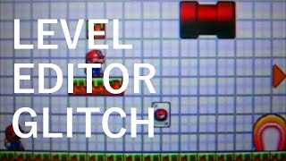 Mario vs. Donkey Kong: Minis March Again! - Level Editor Glitch