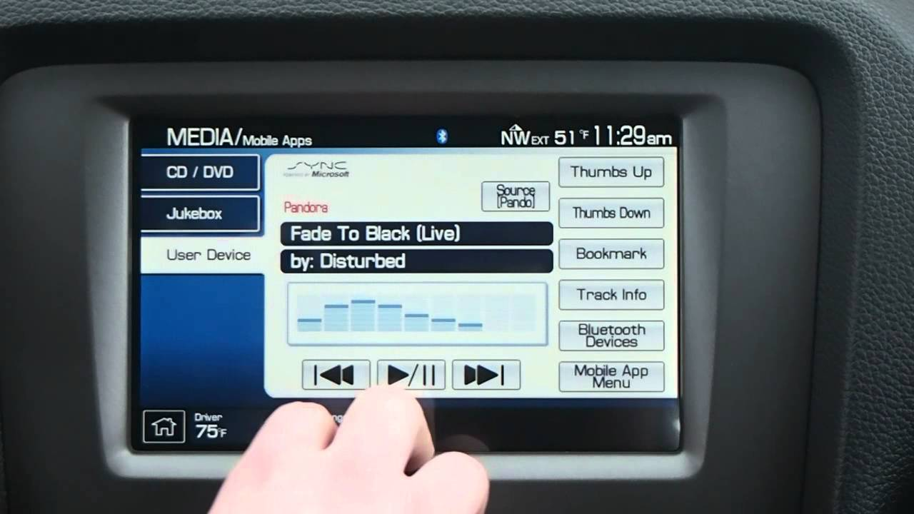 2013 Ford Mustang Next Geneartion Navigation Youtube