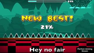 Geometry Dash - Playing the most recent levels ;3;