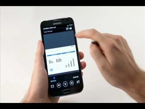 Samsung Galaxy Note II Screen Recorder function