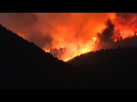 Raw: Colorado Wildfire Destroys Over 100 Homes