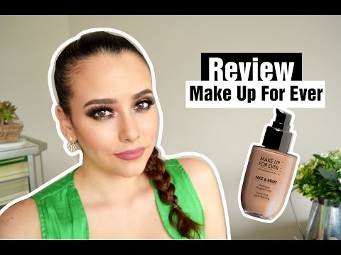 Review- Reseña / MAKE UP FOR EVER. Face and Body Liquid Make-Up   Susana Diaz