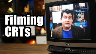 Filming CRTs: It's pretty easy, actually