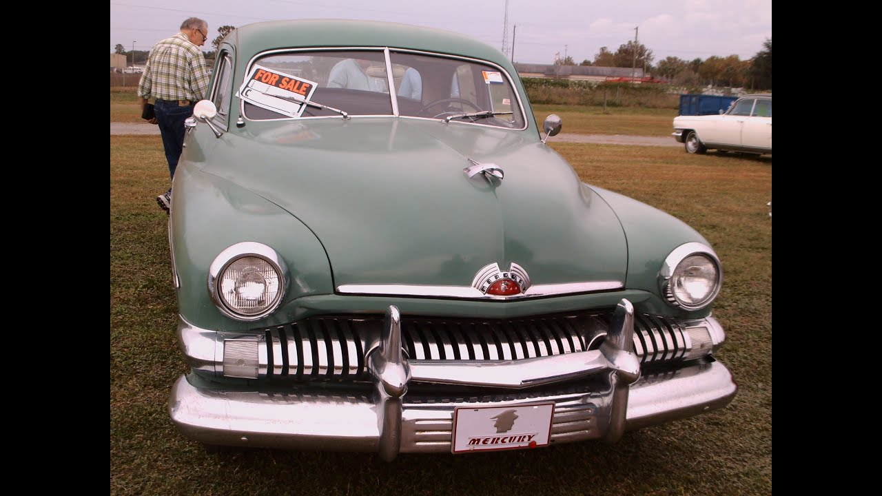 1951 mercury four door sedan grn zh111513 youtube for 1951 mercury 4 door sedan