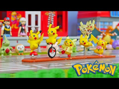 Pokemon Pikachu March - Surprise Toys for Kids