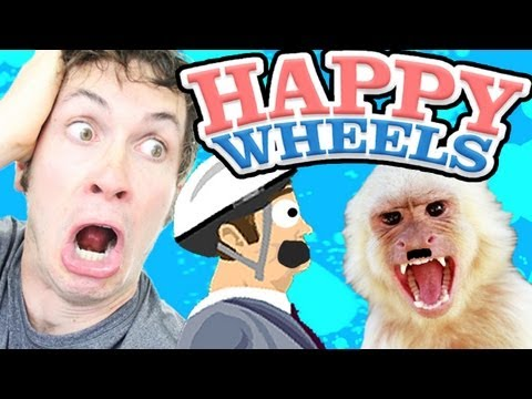 RACIST MONKEY - Happy Wheels