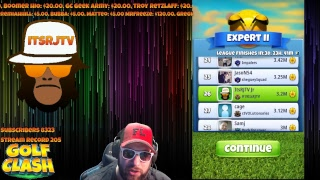 Golf Clash Expert Vintage open qualify main