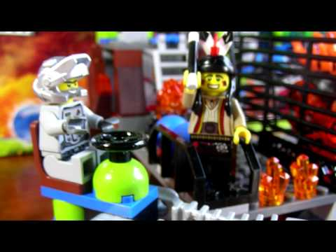 LEGO Lavatraz Power Miners Review - LEGO 8191 Review