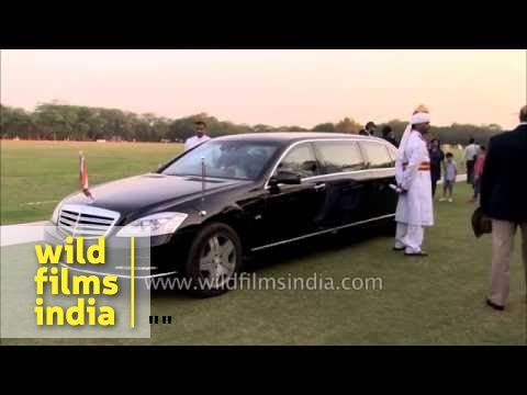 The President's car: Mercedes-Benz S 600 Pullman