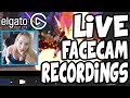 How To Record LIVE FACECAM Using The Elgato Game Capture HD Livestream W Face Camera mp3
