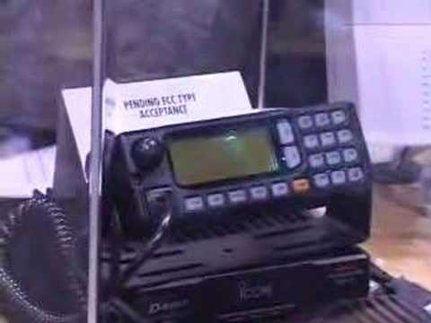 Icom ID-1 1.2 GHz DD Radio at 2002 Dayton Hamvention