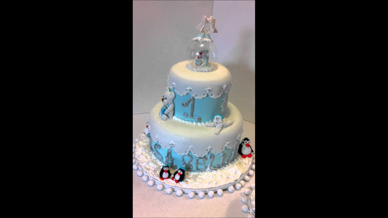 Winter Onederland Cake Topper