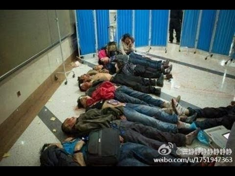 Masacre en estación de trenes en China -- Exclusivo Online