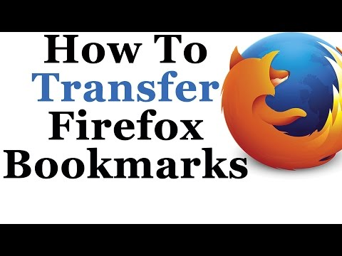 how to make bookmarks show firefox