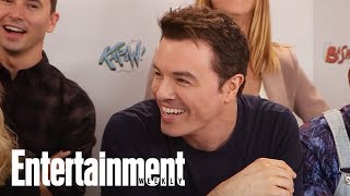 How Seth MacFarlane Got Charlize Theron To Be On 'The Orville' | SDCC 2017 | Entertainment Weekly