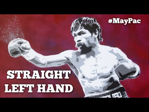 """Mayweather vs Pacquiao: Signature Techniques #1 - Pac's """"Split-Entry"""" Straight Left"""
