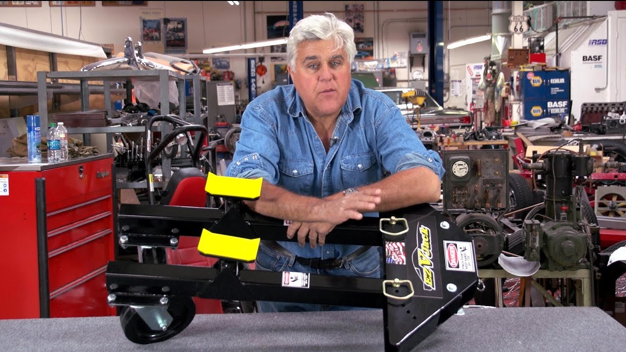 Rolling Car Jacks Jay Leno S Garage Youtube