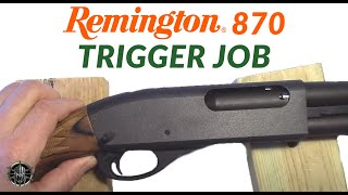 Remington 870 Trigger Job by MCARBO.com