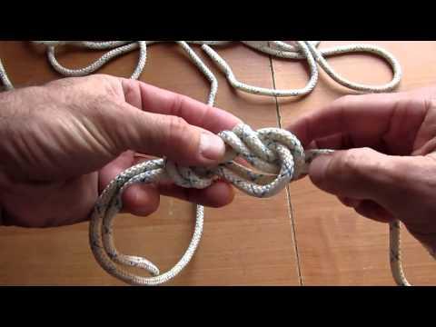 Семья Бровченко. Петли. Как делать петлю с помощью узла