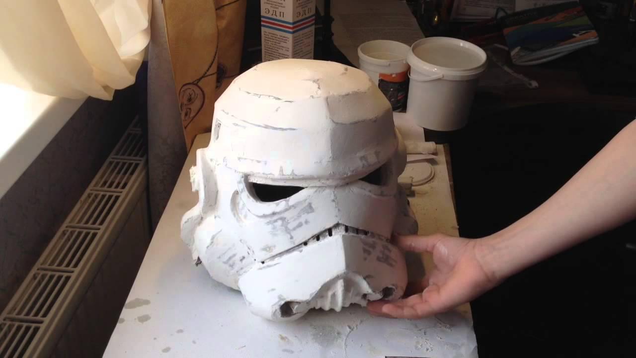 Как сделать для шлема штурмовика 983