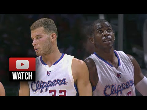 Chris Paul & Blake Griffin Full Highlights vs Jazz (2014.10.17) - 28 Pts, 12 Ast Total!