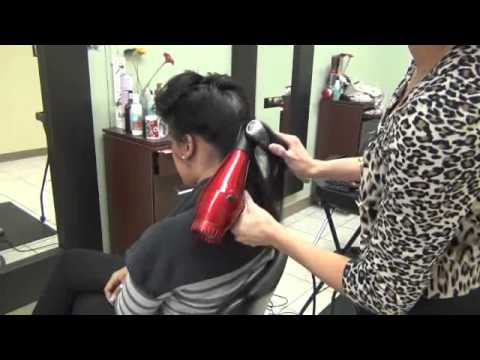 DOMINICAN BLOWOUT PROCESS @ LUCYS SALON
