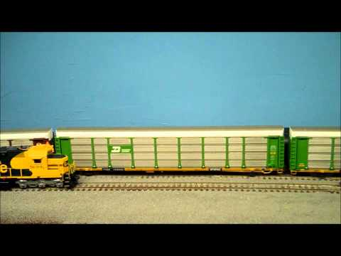 BN COAL TRAIN 005 - 150 Car Taconite Ore Train (edited train length)