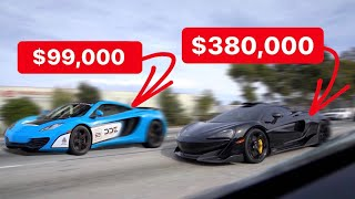 CHEAPEST MCLAREN IN THE COUNTRY EMBARRASSES NEW 600LT! *$99k VS $380k*