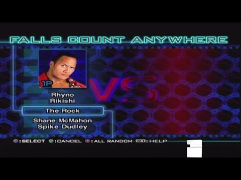 WWF Smackdown Just Bring It:Character Select Screen Roster Including All Unlockables & Arenas thumbnail