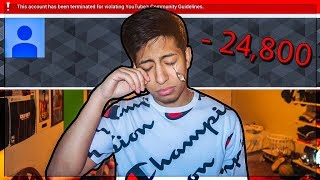 How I Lost 24,800 Subscribers In 24 HOURS 😔