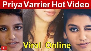 Priya Varrier Video Viral Online