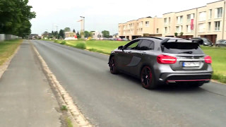 Mercedes GLA 45 AMG Running Start